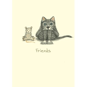 Dobbelt kort Two Bad Mice, 100x150: Friends