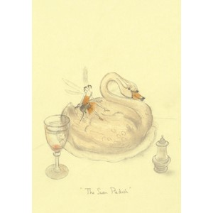 Kort Two Bad Mice: The Swan Pie Dish