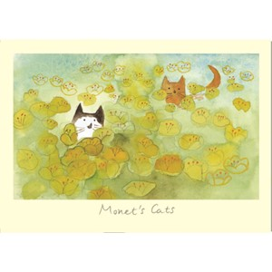 Kort Two Bad Mice: Monet`s Cats