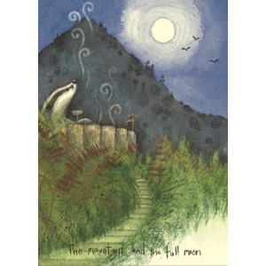 Kort Two Bad Mice: The Mountain and the full Moon