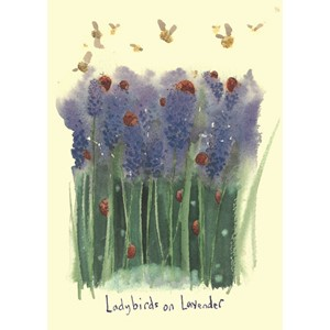Kort Two Bad Mice: Ladybirds and Lavender