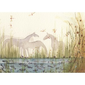 Kort Two Bad Mice: Horses by the Pond