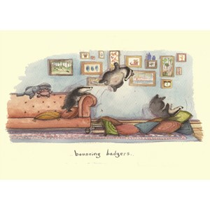Kort Two Bad Mice: Bouncing Badgers