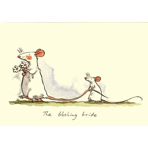 Kort Two Bad Mice: The Blushing Bride