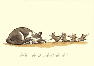 Kort Two Bad Mice:Do it, do it, don`t do