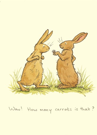 Kort Two Bad Mice: Wow-how many carrots?