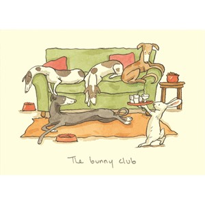 Kort Two Bad Mice: The Bunny Club