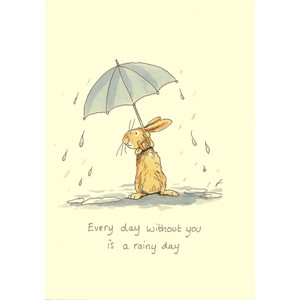 Kort Two Bad Mice: Every Day Without You Is A Rainy Day