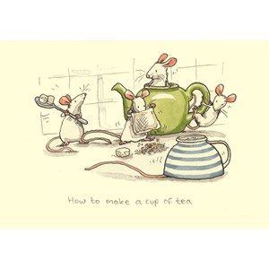 Kort Two Bad Mice: How to make a cup of tea
