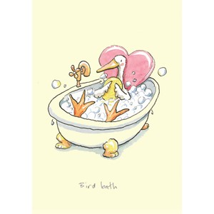 Kort Two Bad Mice: Bird Bath