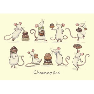 Kort Two Bad Mice: Chocoholics