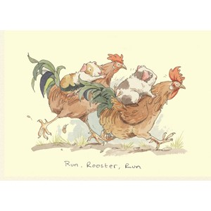 Kort Two Bad Mice: Run, Rooster, run
