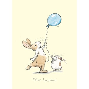 Kort Two Bad Mice: Blue Balloon