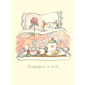 Kort Two Bad Mice: Breakfast in Bed