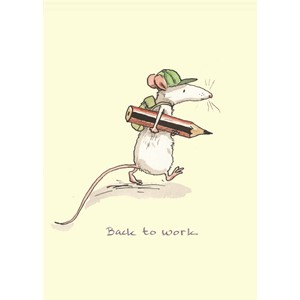 Kort Two Bad Mice: Back to Work