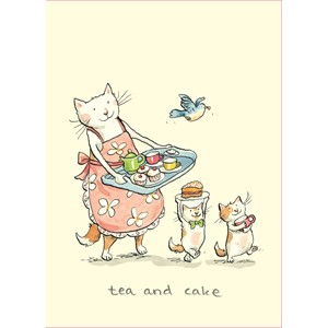 Kort Two Bad Mice: Tea and Cake