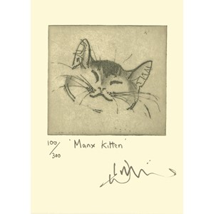 Kort Two Bad Mice: Manx Kitten